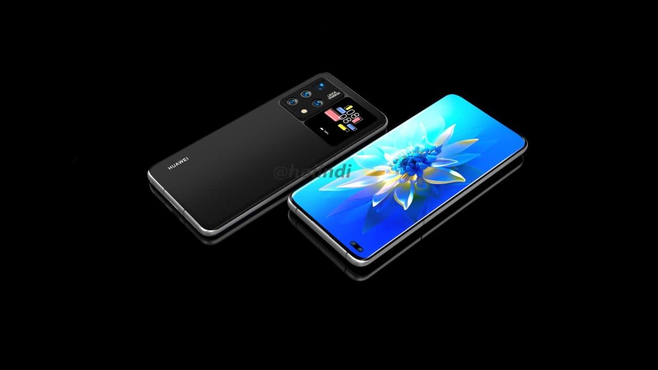 Telefone Huawei com display traseiro ao lado da câmara parece muito interessante 6