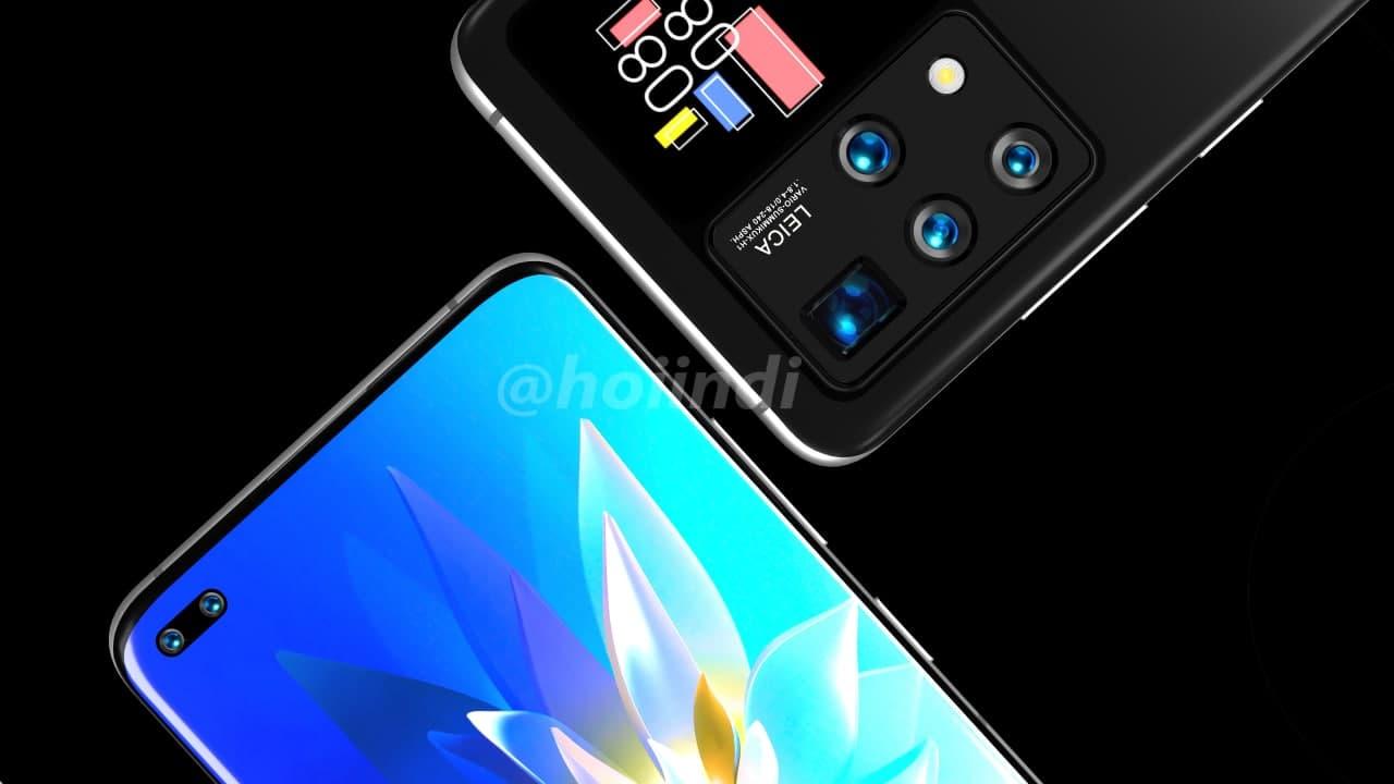 Telefone Huawei com display traseiro ao lado da câmara parece muito interessante 2
