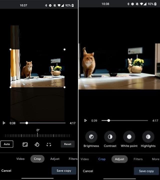 Google adicionou novas ferramentas de edição de vídeo ao Google Fotos 1