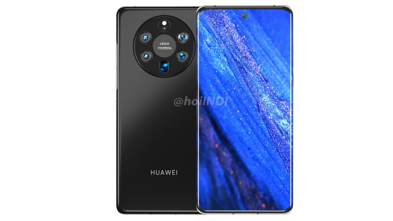Huawei Mate 50 render