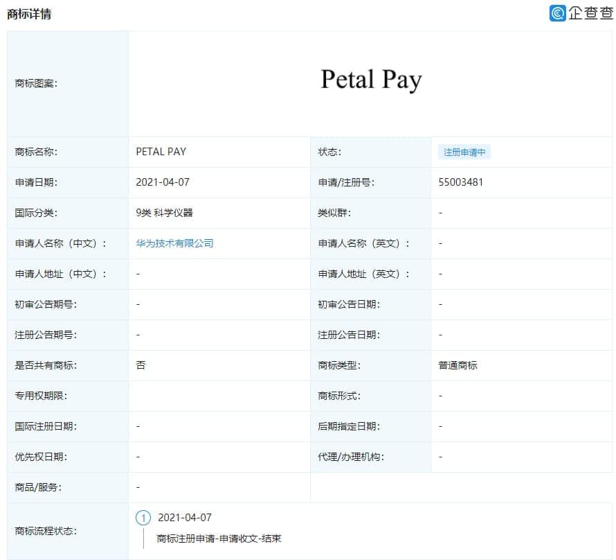 petal pay huawei