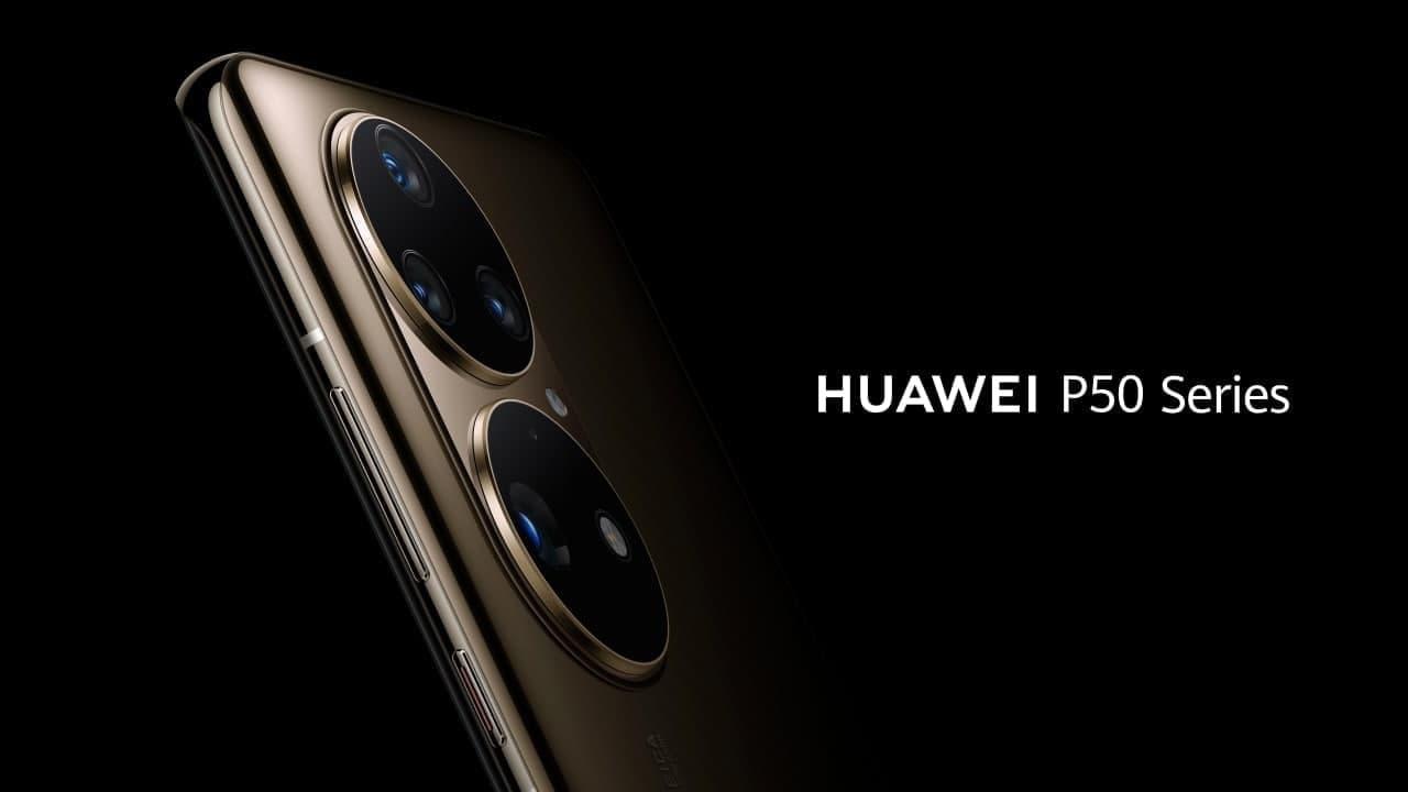 Huawei P50 render