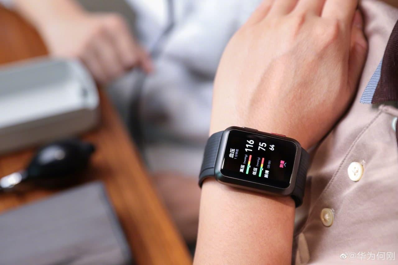 O primeiro smartwatch Huawei com recurso de medição de pressão arterial será lançado no segundo semestre deste ano 2