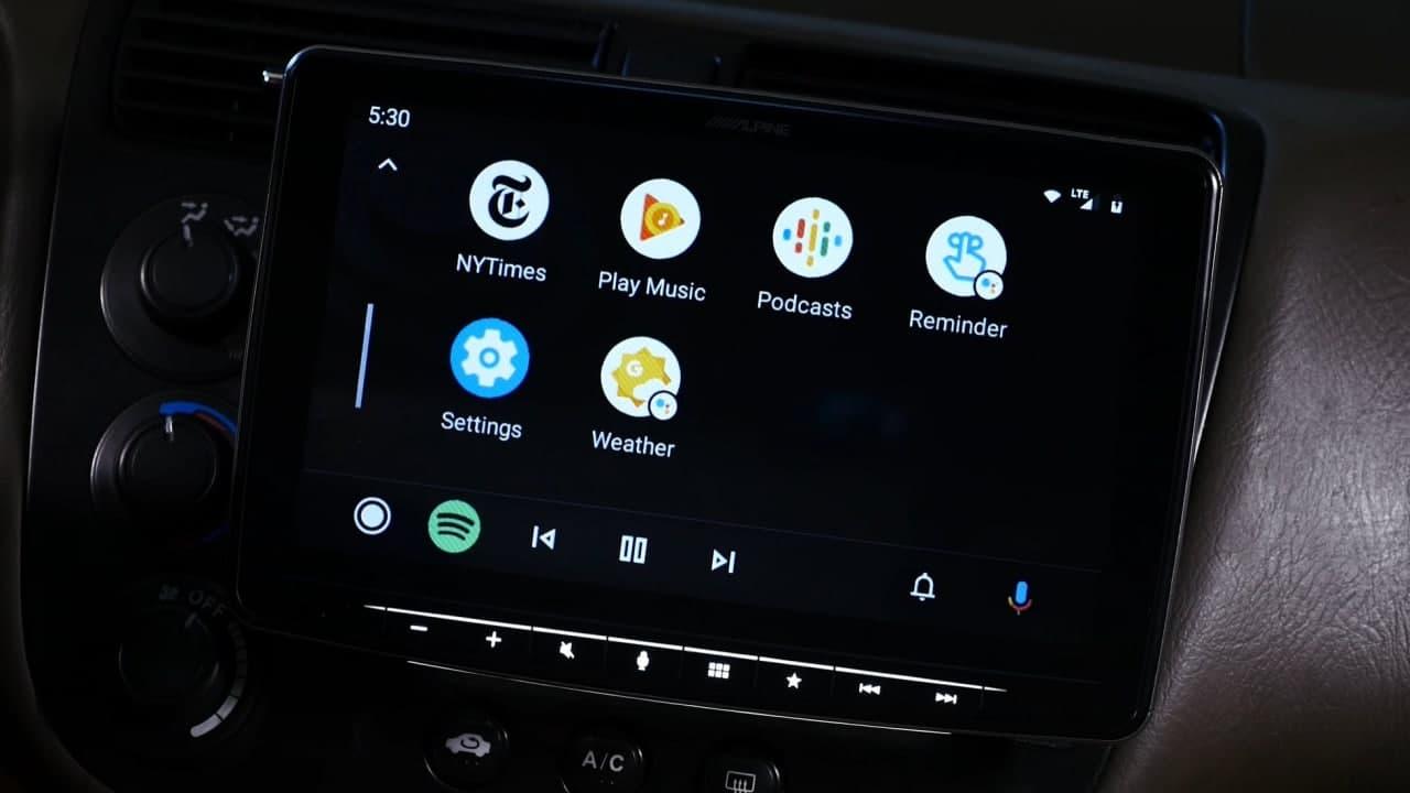 Google anuncia Android Auto Widgets 1