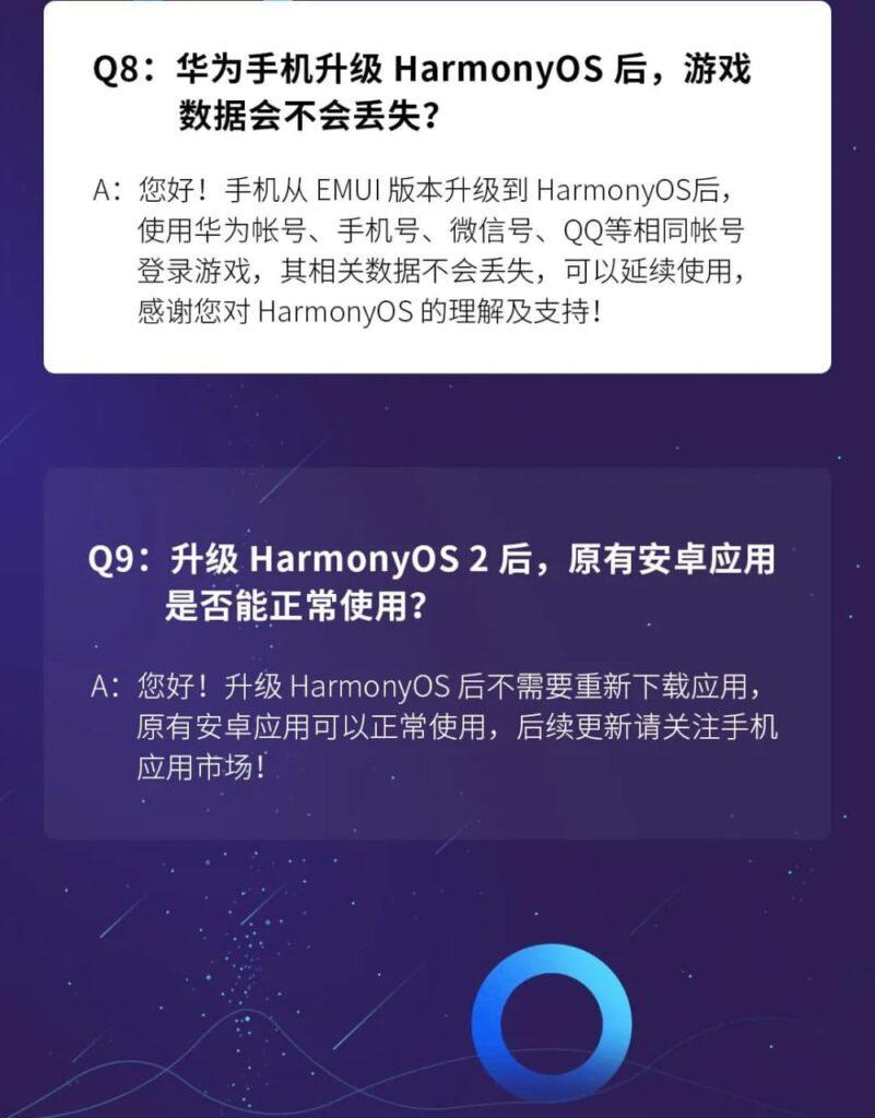 Sim! As aplicações do Google já instaladas funcionam após a atualização para HarmonyOS 2