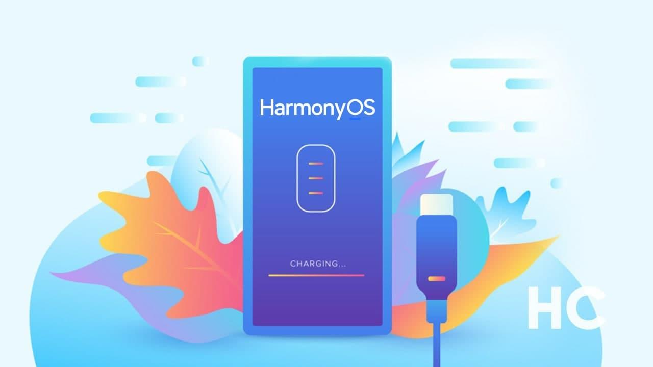 HarmonyOS battery charging