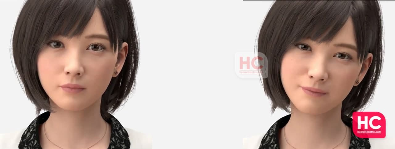Huawei LYSA: virtual person, sam samsung virtual assistant
