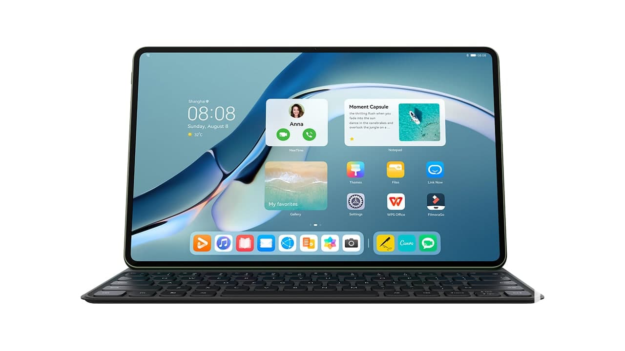 Huawei MatePad Pro 12.6 com bateria de 10050 mAh, Kirin 9000 e HarmonyOS não vai chegar para já a Portugal 2