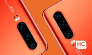 Huawei P30 red