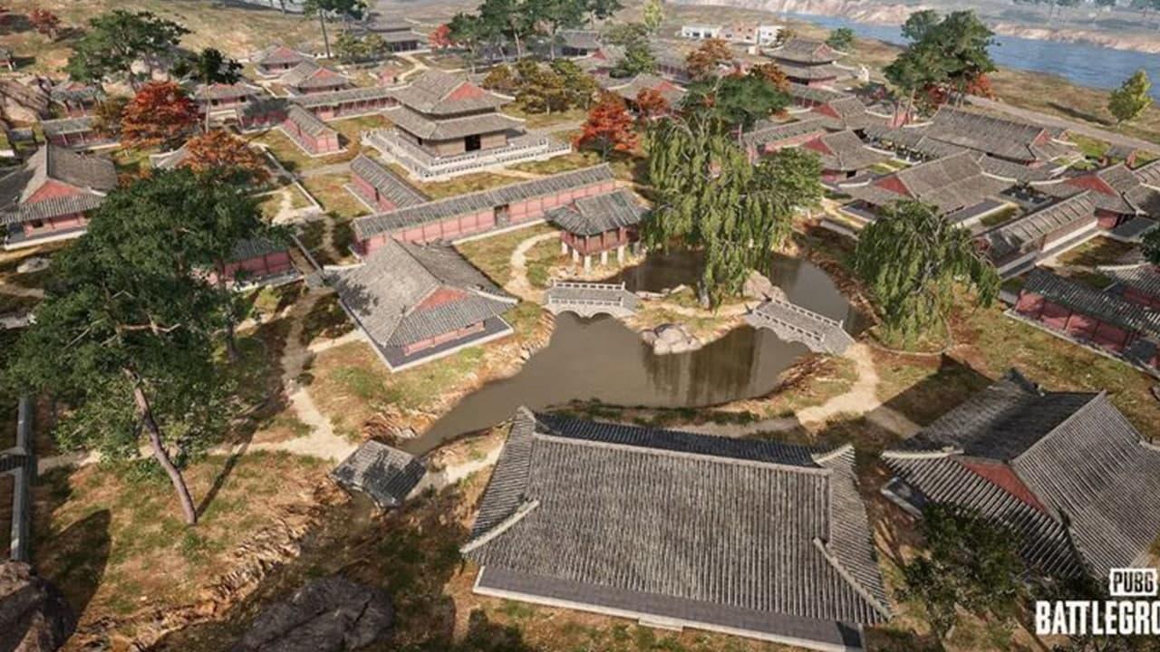 PUBG Taego Map