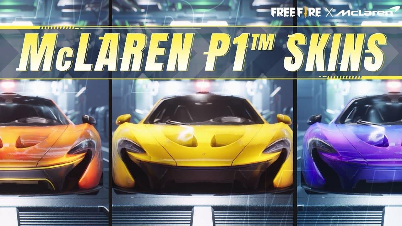 Garena Free Fire x McLaren car skin