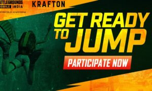 Battlegrounds Mobile Indai Get Ready to Jump contest