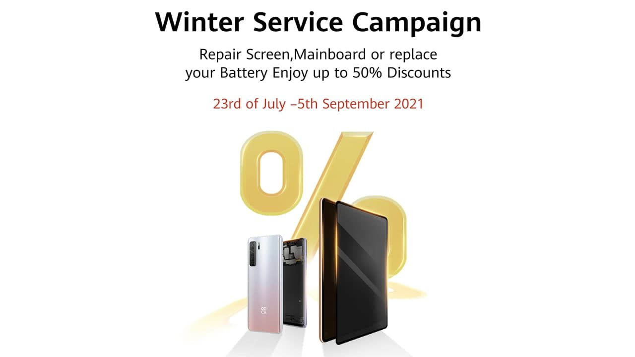 Huawei Winter Service Campaign