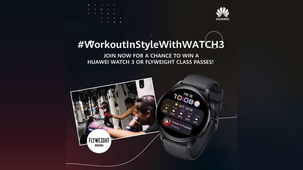 Huawei Watch 3 contest