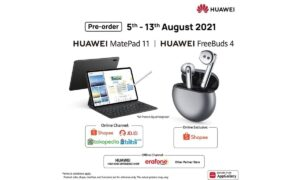 Huawei MatePad 11 and FreeBuds 4 Pre-orders Indonesia