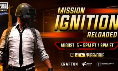 PUBG Mission Ignition Reloaded Event