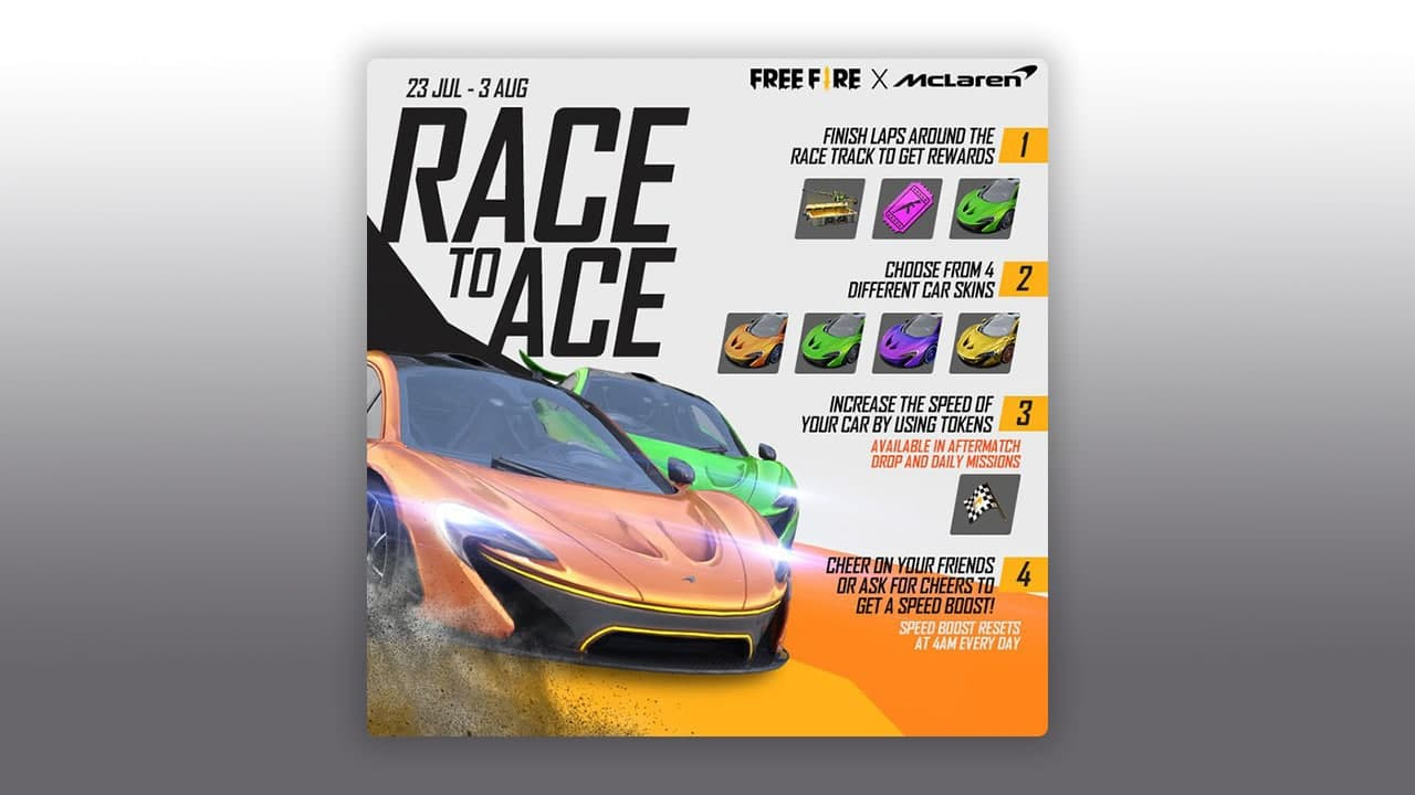 Race To Ace Event Free Fire