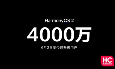 HarmonyOS 2 40 million installations
