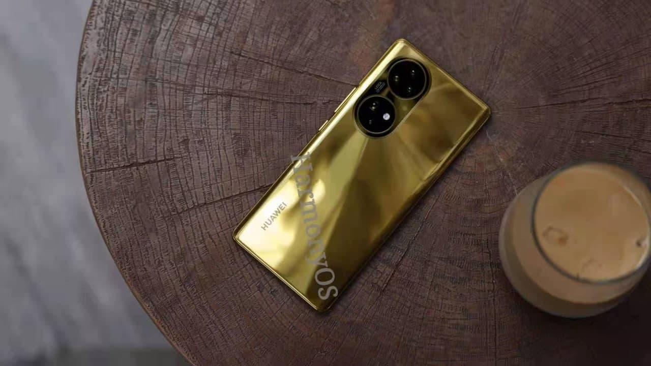 Huawei P50 Gold