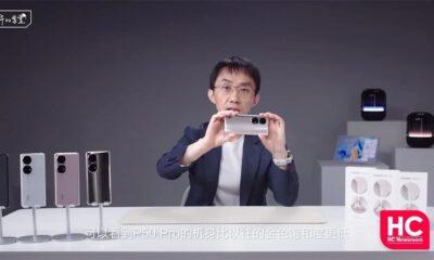 Huawei P50 series Unboxing