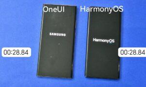 One UI 3 vs HarmonyOS 2
