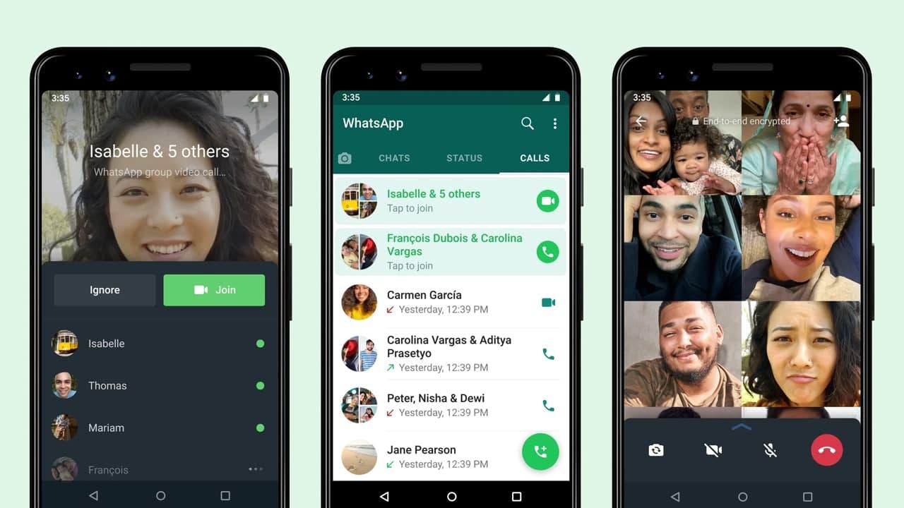 Join WhatsApp Video Call