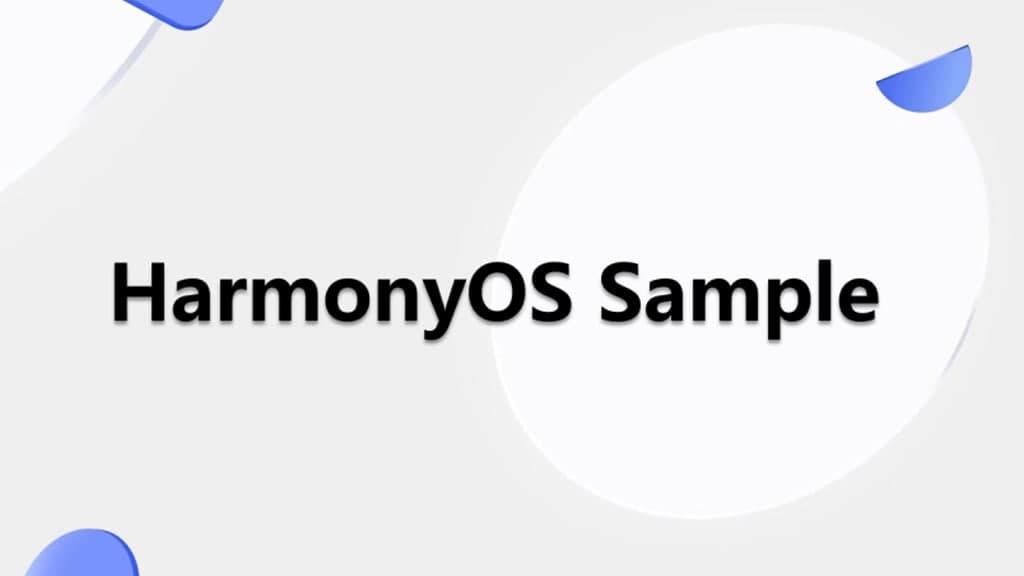 HarmonyOS Sample