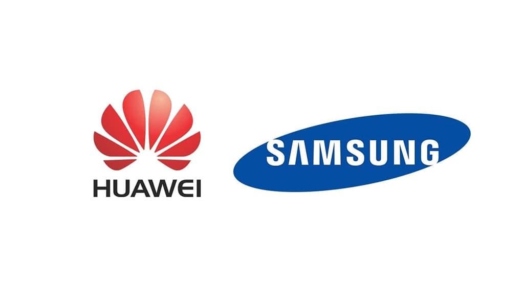 Huawei and Samsung
