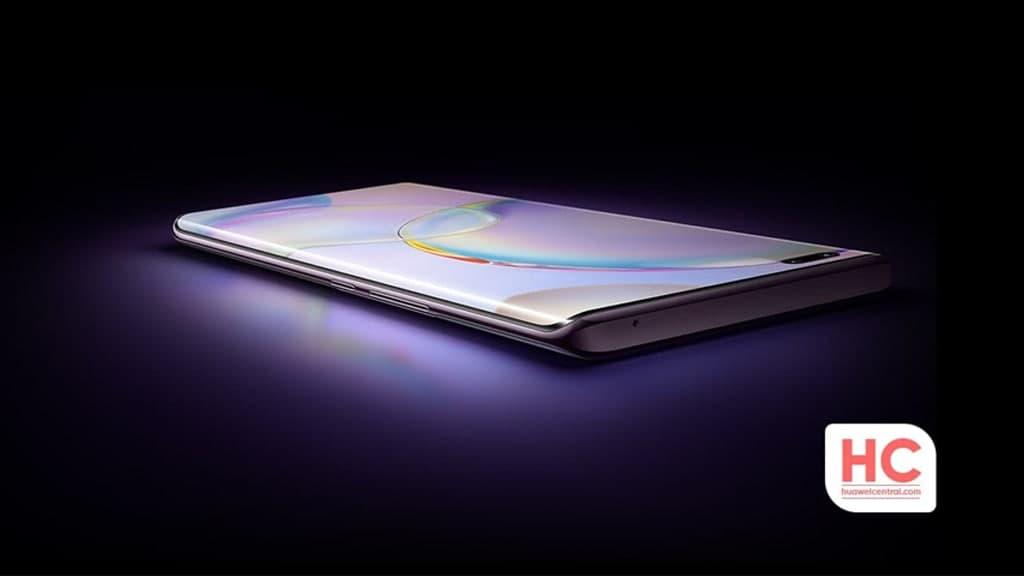 Huawei curved display