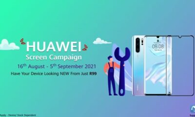 Huawei Screen Replacement Campaign