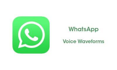 WhatsApp Voice Waveforms