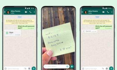 WhatsApp Media View Once feature