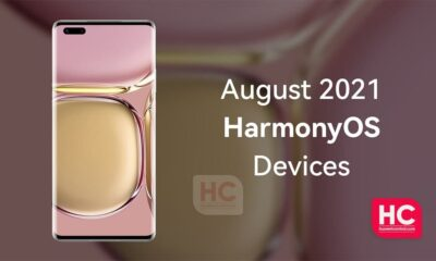 HarmonyOS August 2021 devices