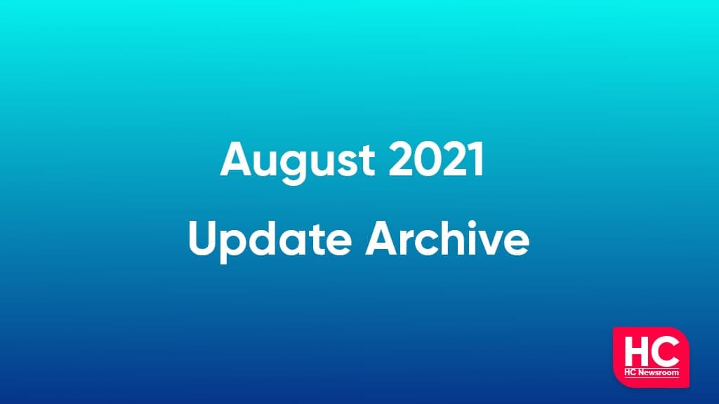 August 2021 update archive