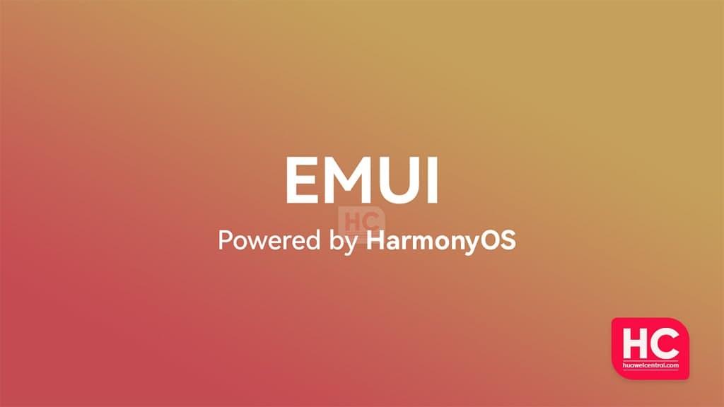 EMUI powered by HarmonyOS