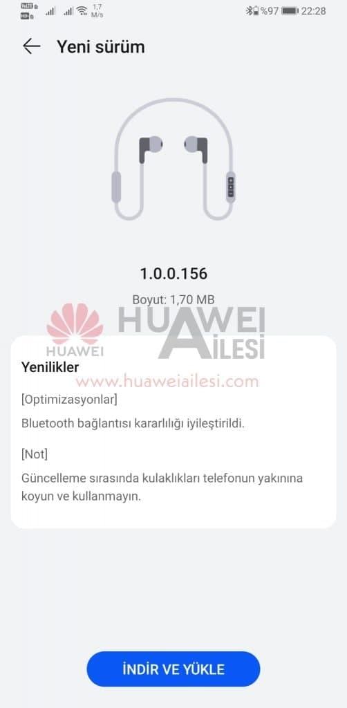 Huawei FreeLace Pro update