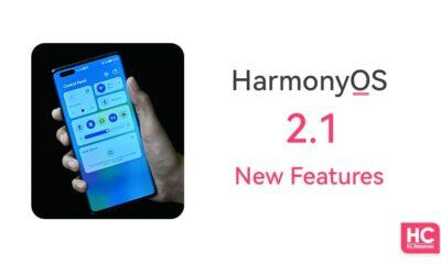 harmonyos 2.1 features