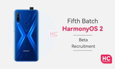 HarmonyOS 2 Fifth Batch beta