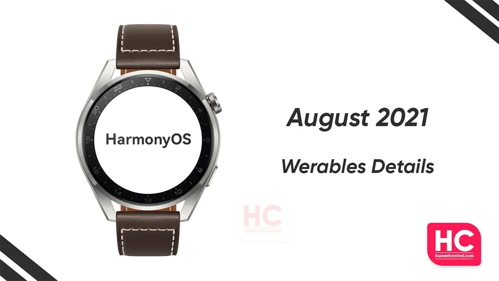 August 2021 wearable patch details