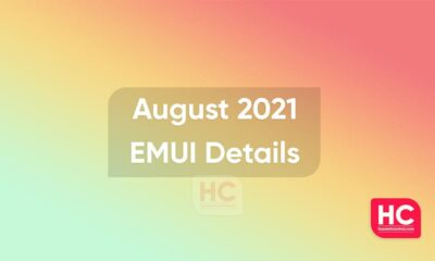 August 2021 EMUI details