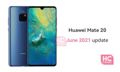 Huawei Mate 20 June 2021 update