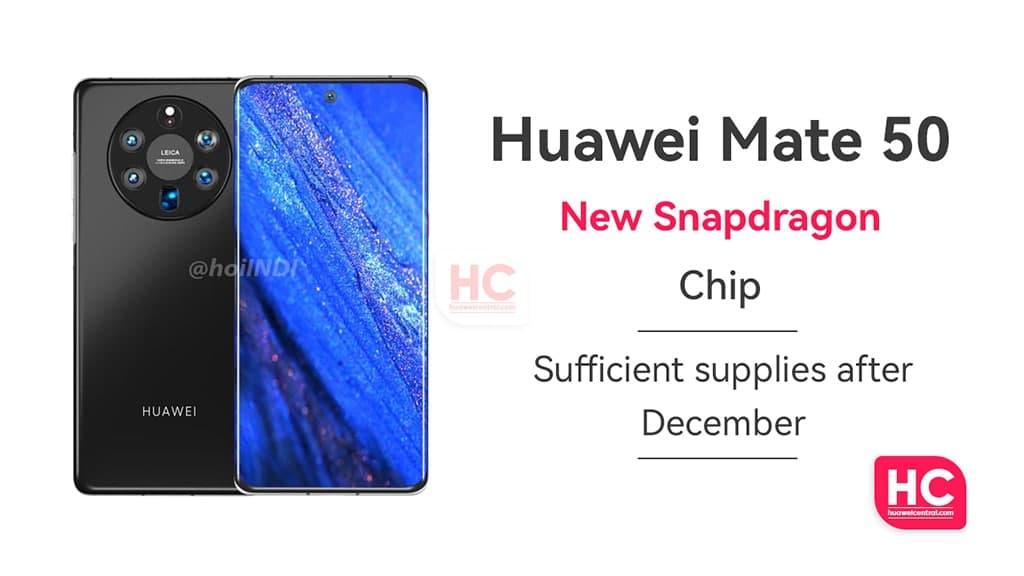 Huawei mate 50 Snapdragon