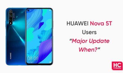 Huawei Nova 5T major update