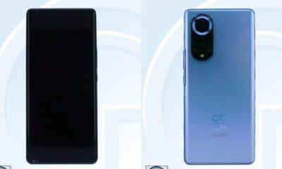 Huawei Nova 9 TENAA