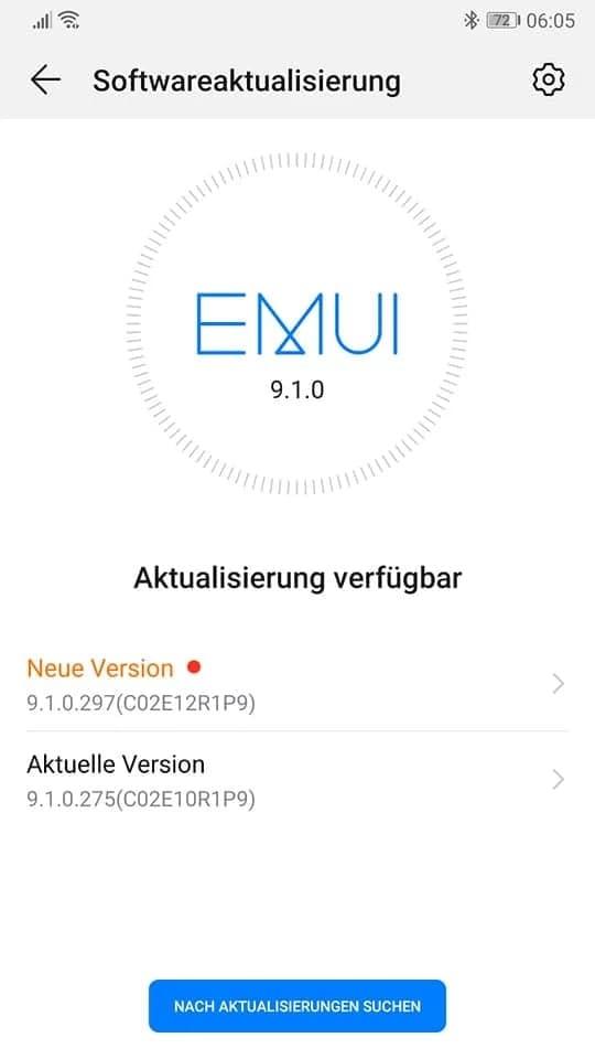Huawei p10 May 2021 update