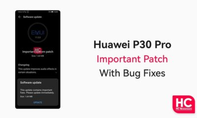 Huawei P30 Pro IMportant patch