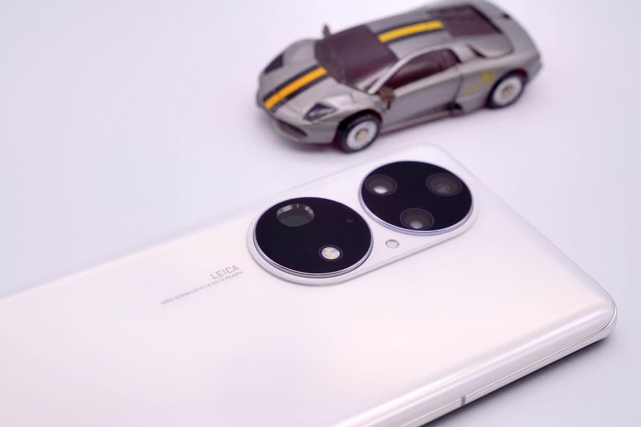 Huawei P50 Pro Pearl White Rear Design