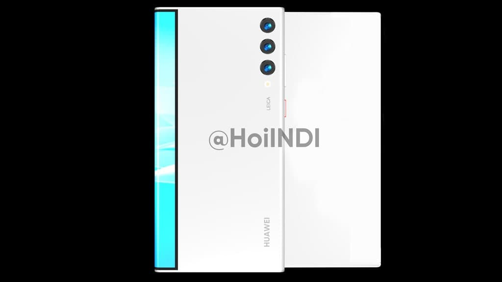 Huawei Mate rollable phone back