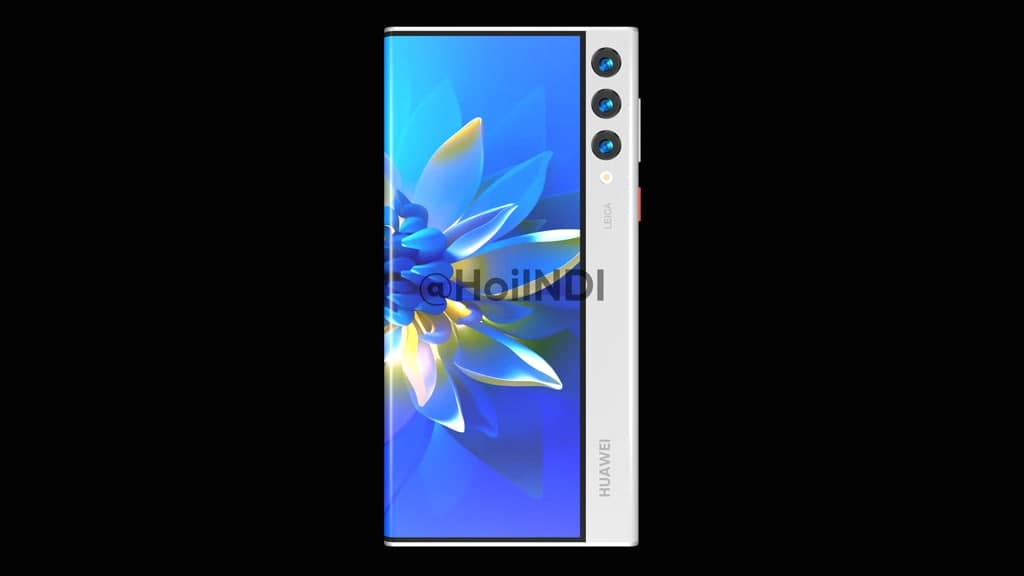Huawei Mate rollable phone