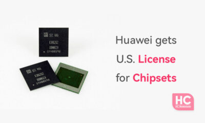 Huawei chipset license